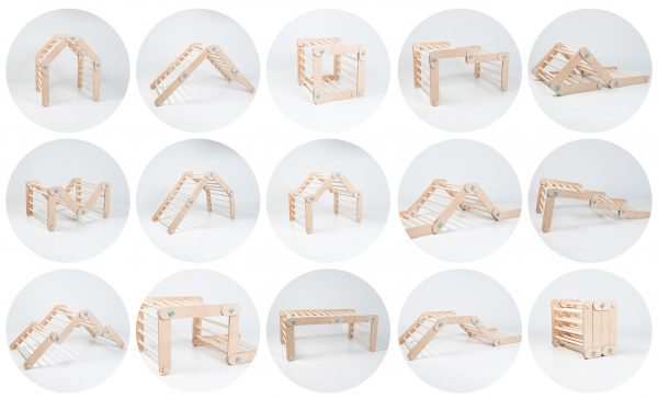 transformable climber with ramps