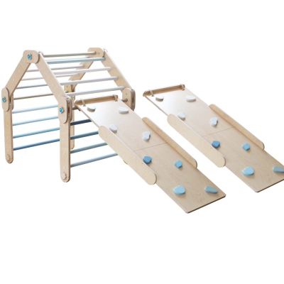 Blue Climber with 2 ramp